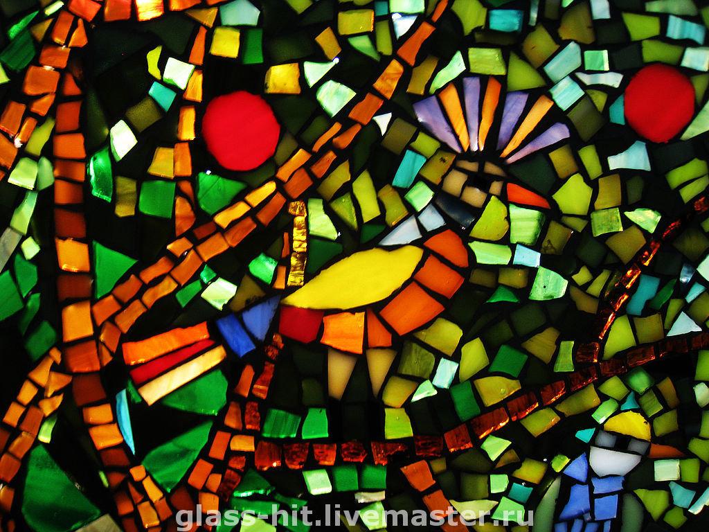Мастер класс мозаика из стекла своими руками 57