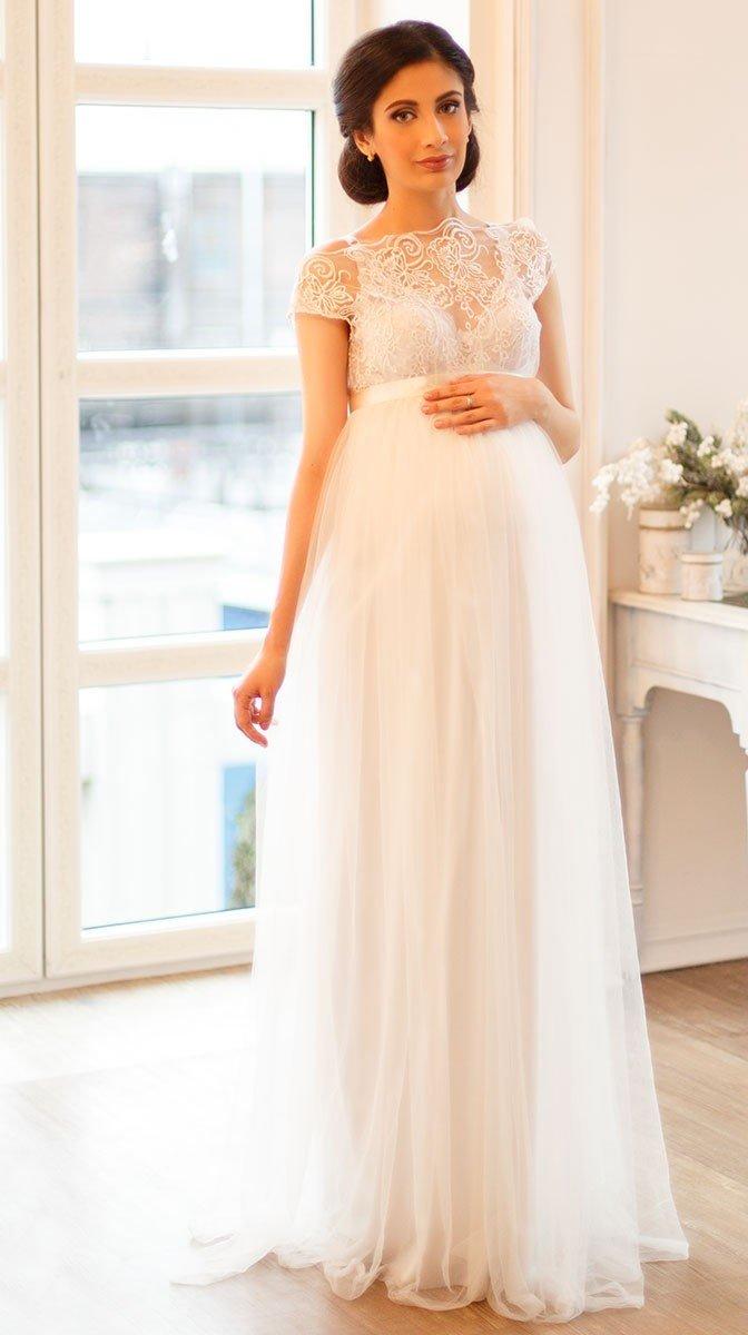 Свадебное платье для беременных спб 190