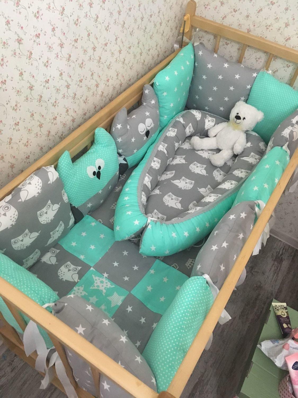 Бортики подушками своими руками 38