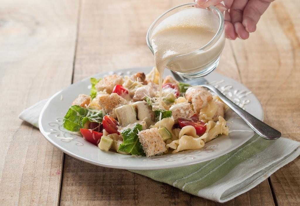 Заправка для салата цезарь в домашних условиях простой рецепт