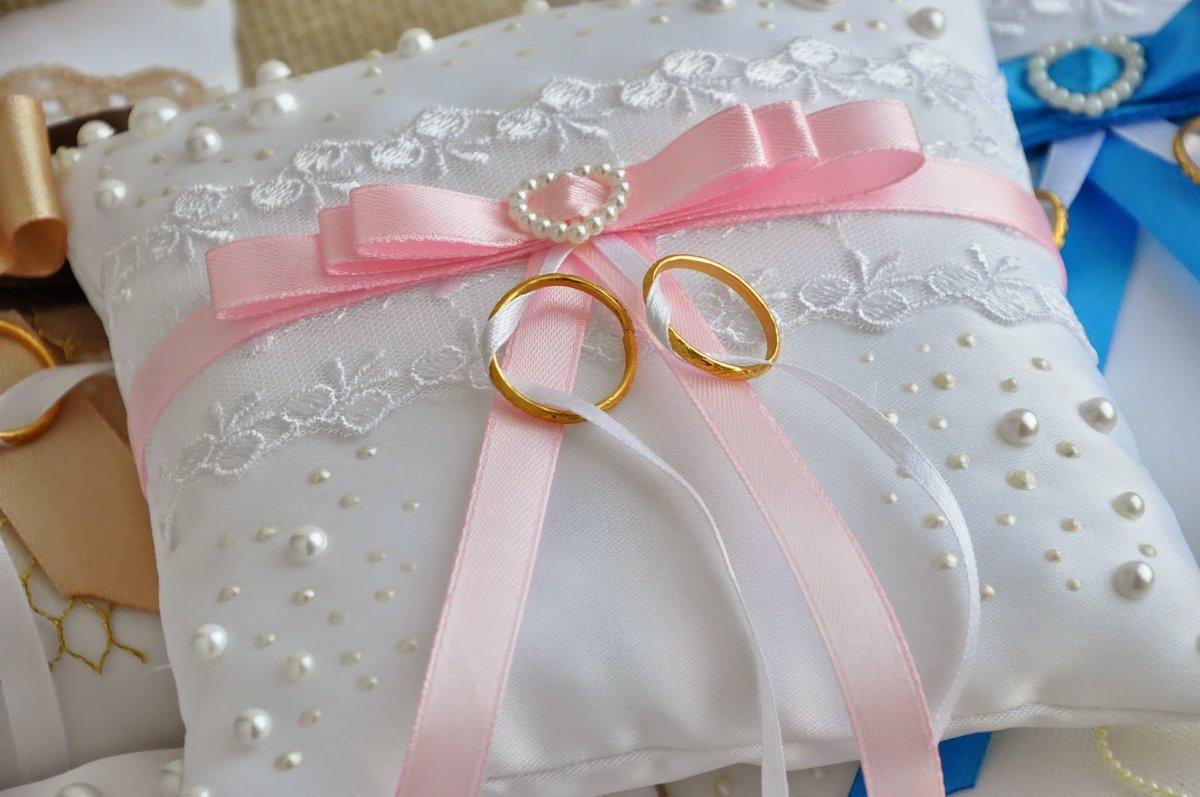 Подушечка свадебная своими руками 87