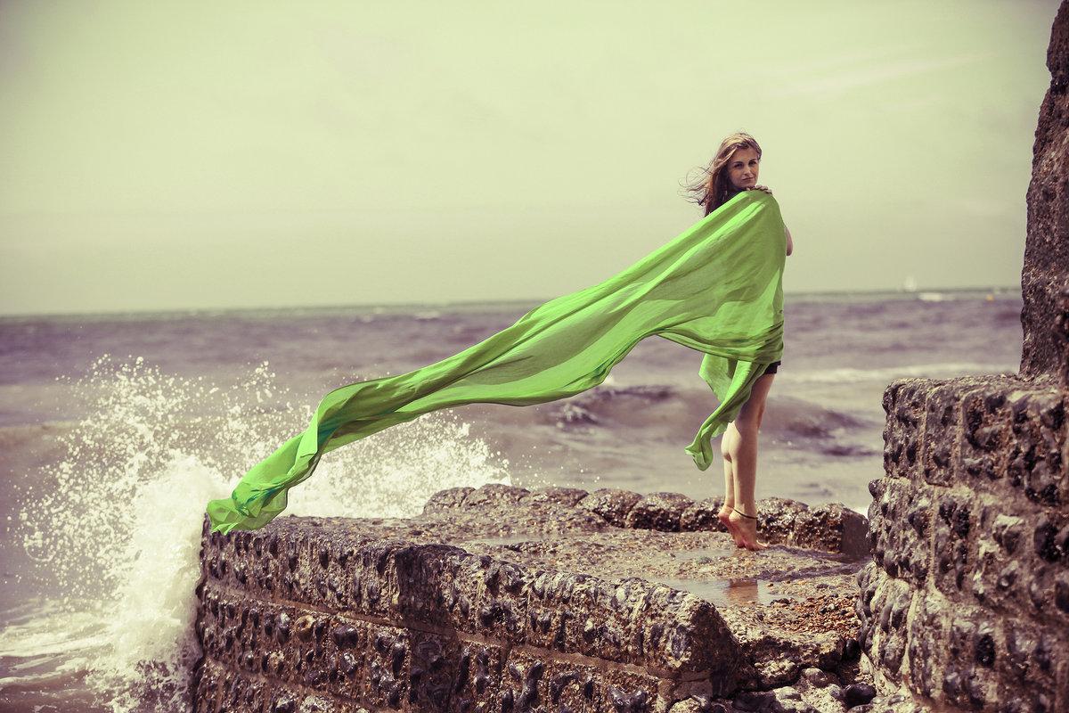 Идеи для фото на море с парео