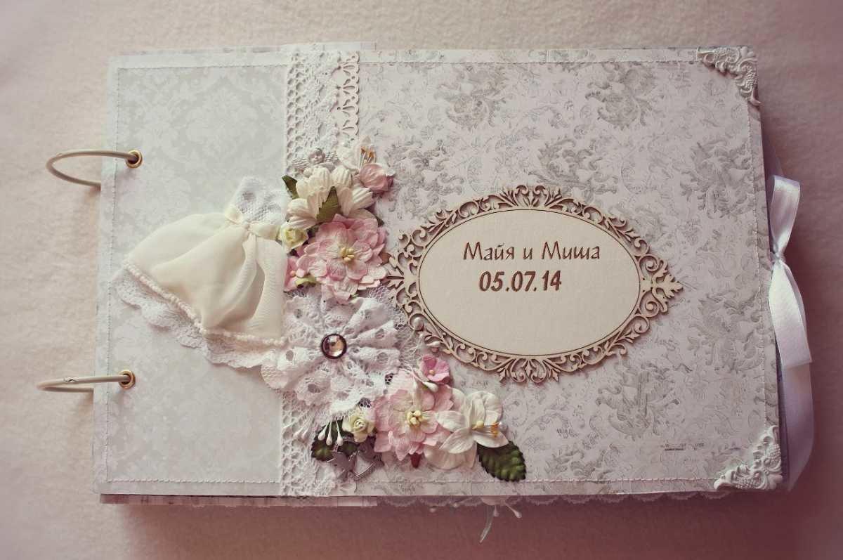 Свадебный украсить фотоальбом своими руками 8