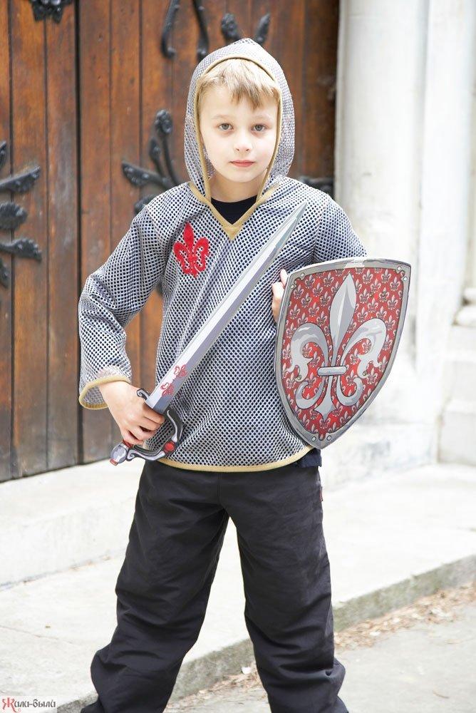 Костюм рыцаря для мальчика своими руками фото 83