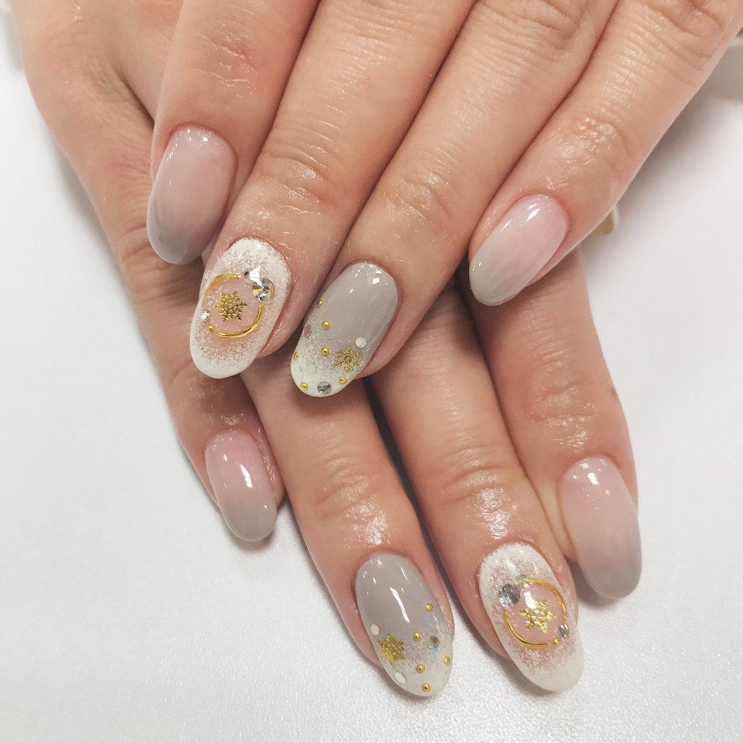 Дизайн ногтей гелем 2018 фото новинки зима