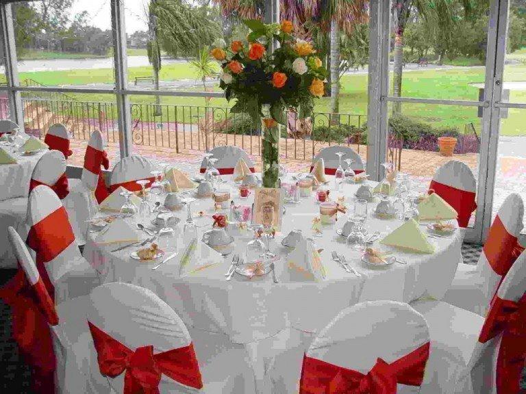Декор столов на свадьбу своими руками 88