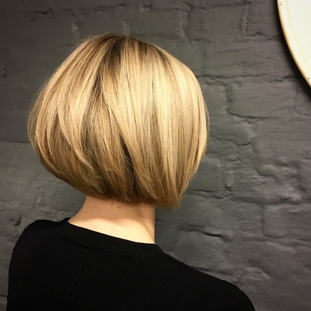 Боб-каре фото причесок блондинки