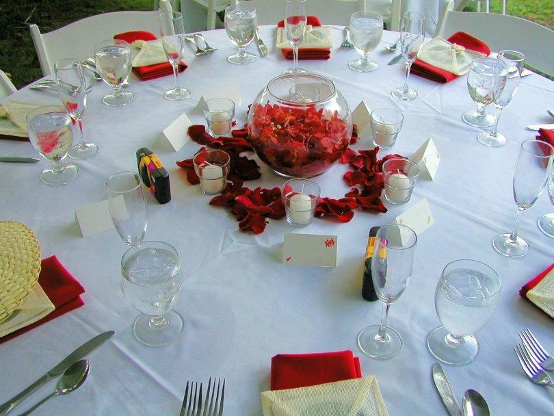 Как накрыть свадебный стол своими руками фото 45