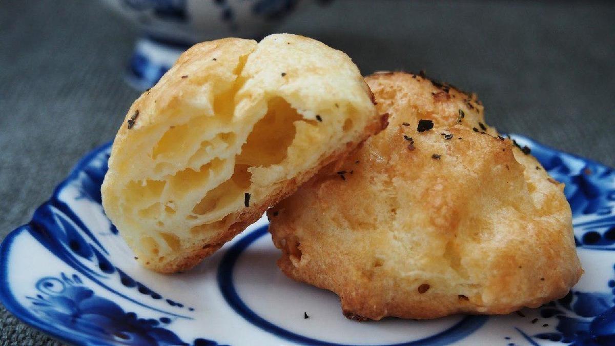 Заварные сырные шарики рецепт пошагово в