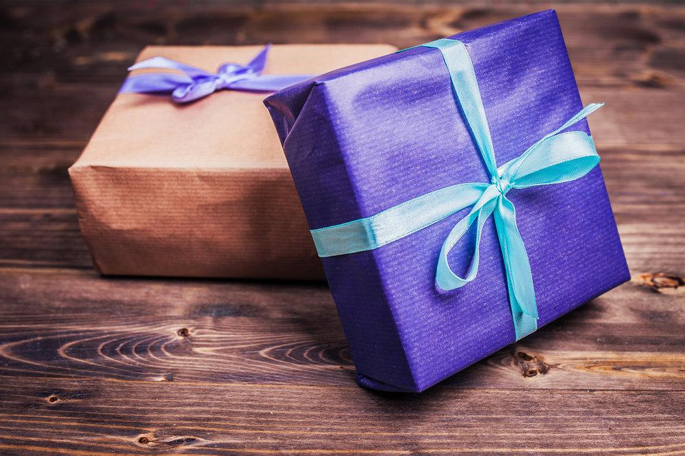 Упаковка подарков академическая 5