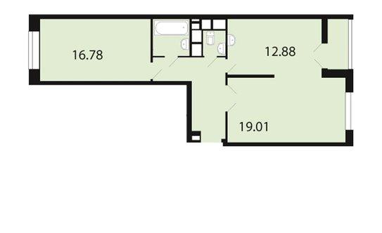 Продажа 1-комнатной квартиры, лобня, кольцевая улица, 14