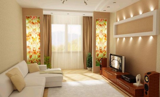 Дизайн зала 20 кв м в квартире своими руками