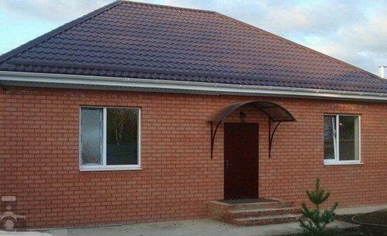 Стоимость постройки дома из кирпича 100 кв м