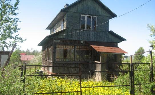 Ленинградская область, выборгский район, пгт рощино, участок ижс 6 соток с домом 42 кв/м
