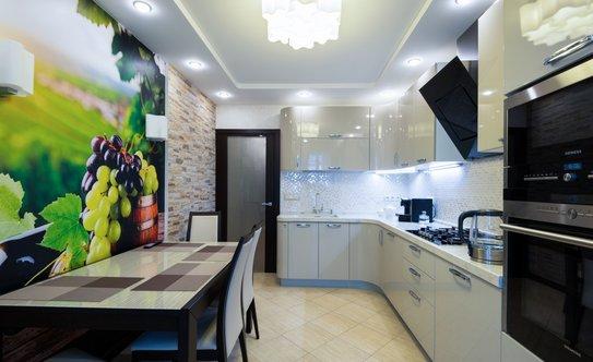 Как сделать красивый ремонт на кухне фото