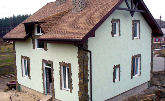 Фото дизайнов домов короедом
