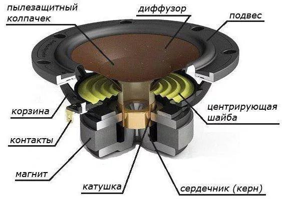 Устройство динамика - фотография 3