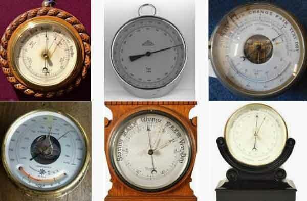 Барометр, встроенный в часы - фотография 20