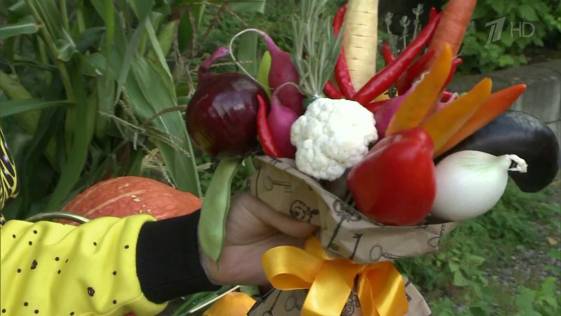 Букеты из овощей своими руками мастер класс