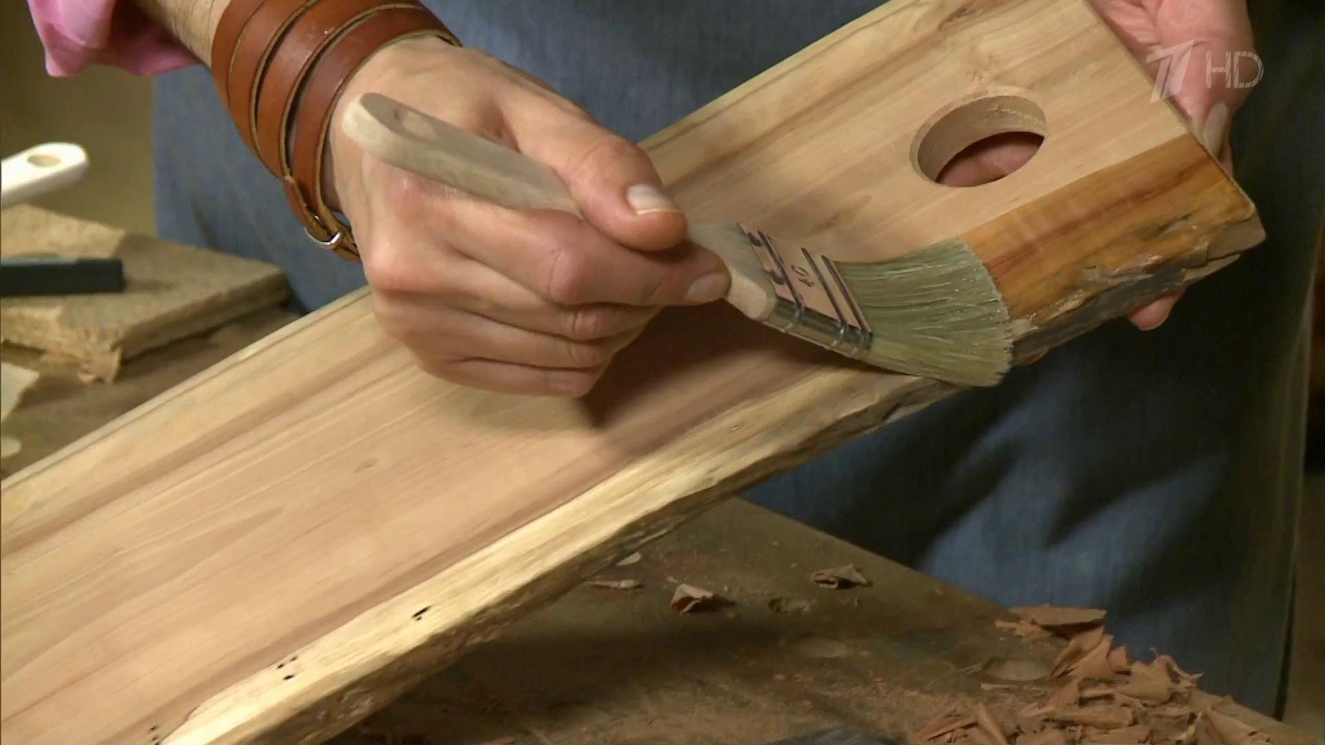 Изделия из капа, обработка Из дерева 100