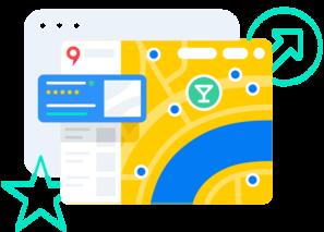 Приоритетное размещение на Яндекс.Картах