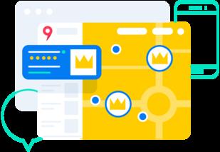 Брендированное приоритетное размещение на Яндекс.Картах
