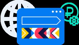 Медийная кампания Директа наГлавной странице Яндекса