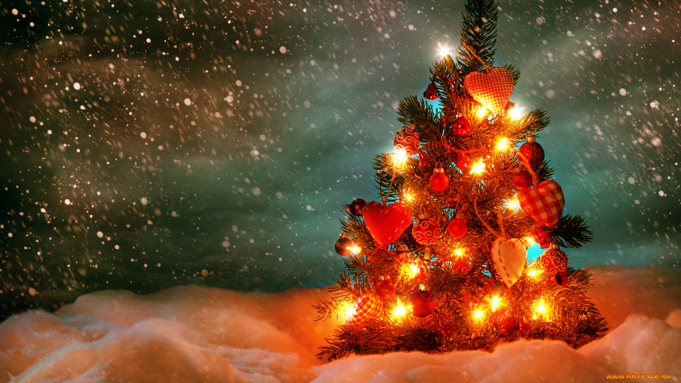 christmas wallpaper images - HD 1366×768