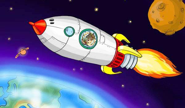 космос для детей в картинках