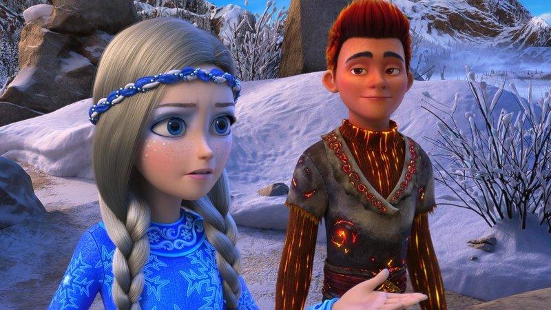 Кадры из фильма Снежная королева 3. Огонь и лёд