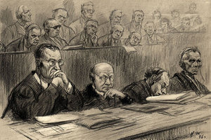 В кулуарах Нюрнбергского трибунала