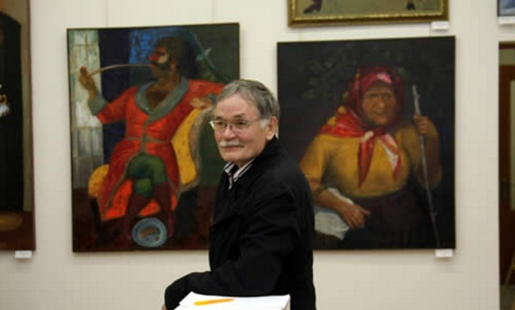 Персональная выставка живописи А. Алексеева-Свинкина