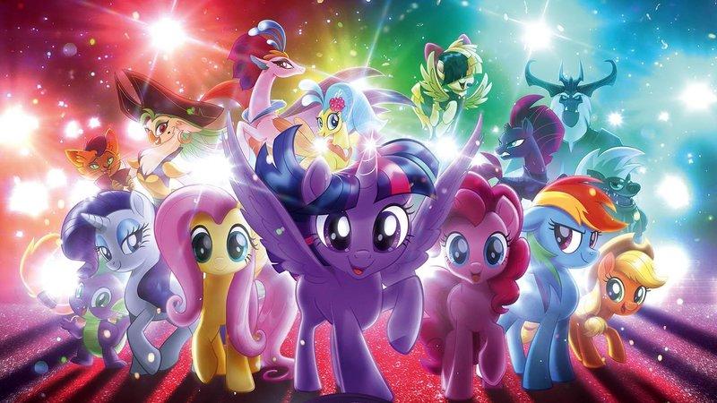 Кадры из фильма My Little Pony в кино