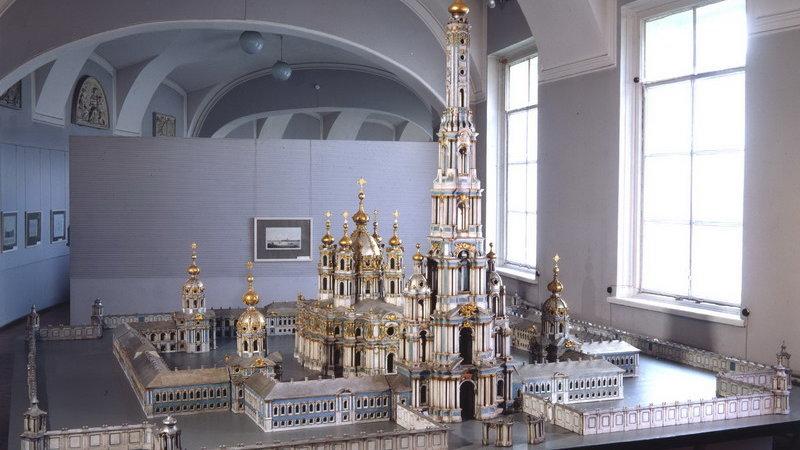 Исторические архитектурные модели и чертежи