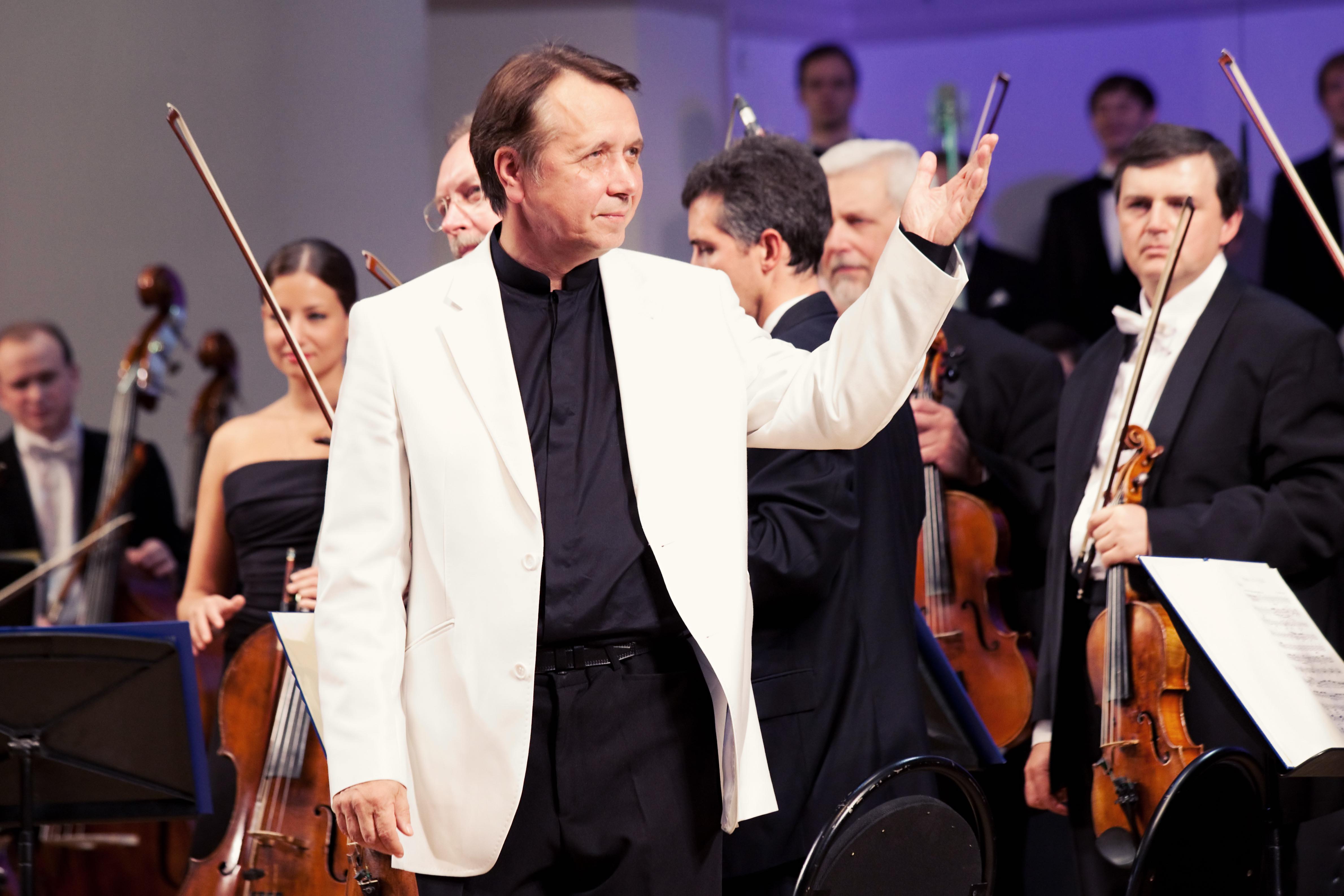 Михаил Плетнёв и Российский национальный оркестр