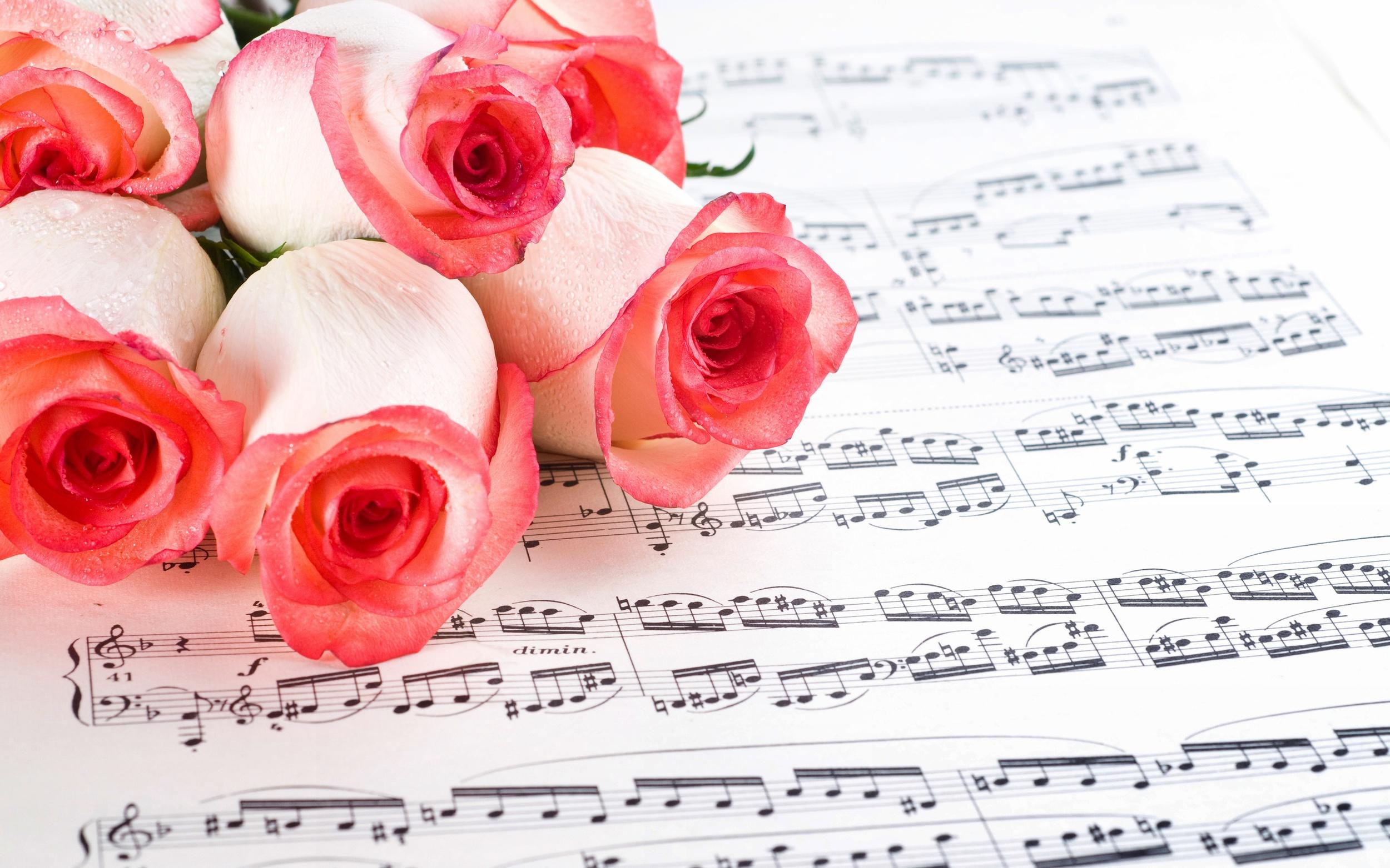 Королевы, музыкальные открытки цветов