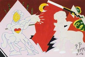 Воскрешение Пабло Пикассо в 3111 году