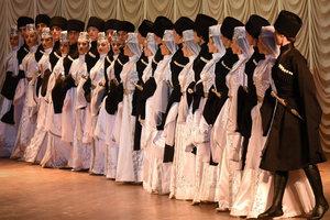 Концерт Государственного ансамбля народного танца «Кавказ»