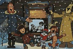 Сборник мультфильмов «Зима в Простоквашино»
