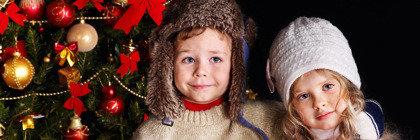 Развлечения для детей в новогодние каникулы