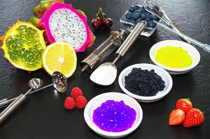 Ингредиенты для молекулярной кухни