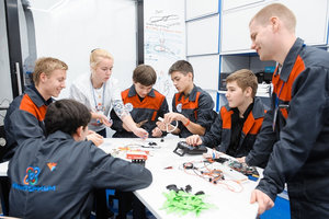Встреча с Центром инженерных компетенций для детей и молодежи «Кванториум»