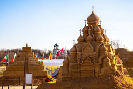 Чемпионат мира по скульптуре из песка