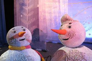 Солнышко и снежные человечки