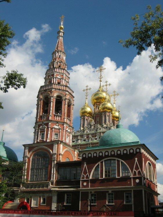 православный храм — Храм Воскресения Христова в Кадашах — Москва, фото №2