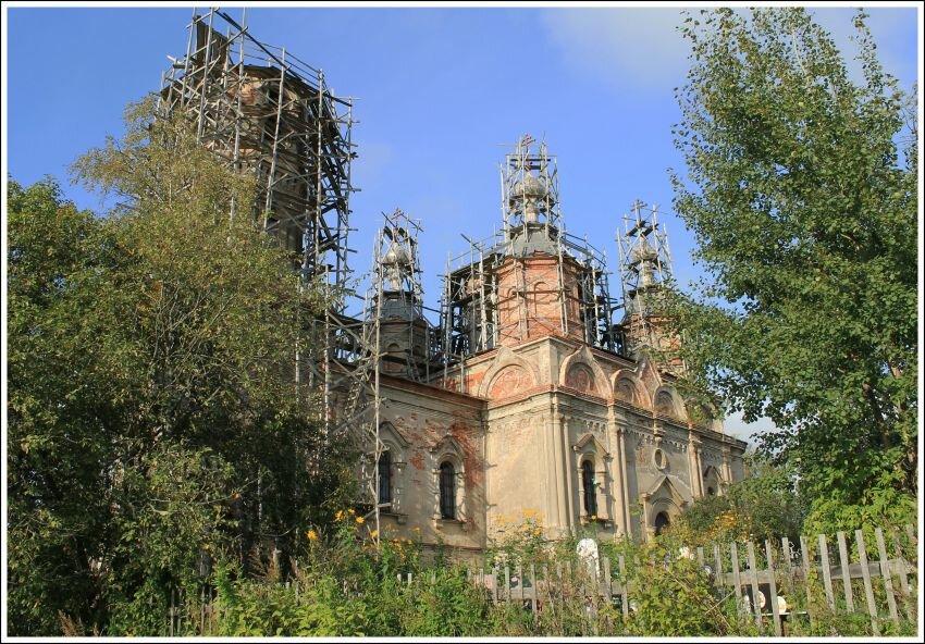 orthodox church — Tserkov Troitsy Zhivonachalnoy V Issade — derevnya Issad, фото №7