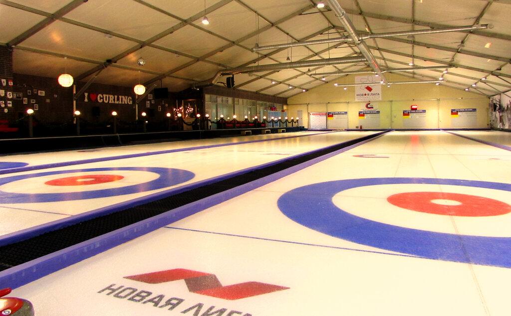 curling club — Керлинг-клуб Новая Лига New League Curling Club — Moscow, фото №1