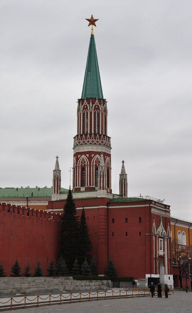 достопримечательность — Никольская башня — Москва, фото №9