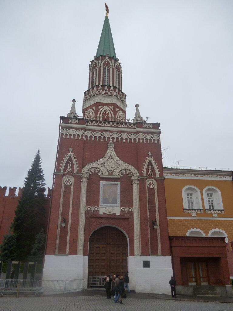 достопримечательность — Никольская башня — Москва, фото №5