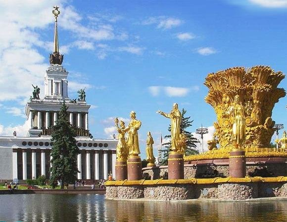 landmark, attraction — VDNKh Main Entrance — Moscow, photo 2